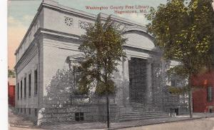 HAGERSTOWN, Maryland, 1900-10s; Washington County Free Library