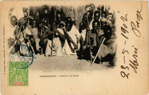 CPA Guerrier du Nord MADAGASCAR (709616)