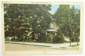 1916 ANTIQUE POSTCARD SUGG HOME HUNTSVILLE ALA