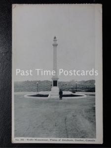 Vintage PC - Wolfe Monument, Plains of Abraham, Quebec - Canada
