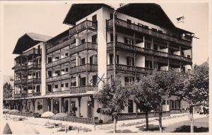 Austria St Wolfgang The Grand Hotel Real Photo
