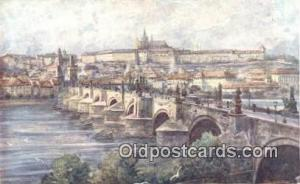 Artist Engelmuller, F. Postcard, Praha, Prague, Czech Republic, Post Card, Ol...