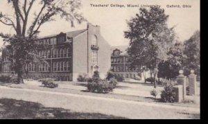 Ohio Oxford Teachers College Miami University Albertype