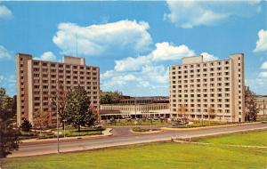 Bloomington Indiana University-Briscoe Quadrangle Residence Halls~c1950s Pc
