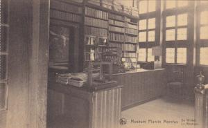 BELGIUM, 1900-1910's; Museum Plantin Moretus, De Winkel, La Boutique
