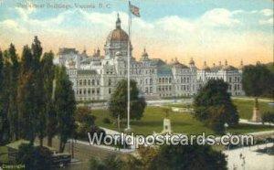 Parliament Buildings Victoria British Columbia, Canada Unused