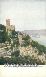 Castle on the Rhine Germany, Deutschland Postcard  Castle on the Rhine