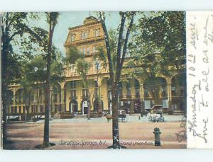 Pre-1907 GRAND UNION HOTEL Saratoga Springs New York NY B3389