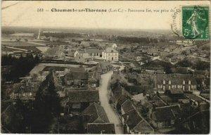 CPA CHATEAUNEUF-sur-CHER-Boissereau-Digue sur le Cher (26793)