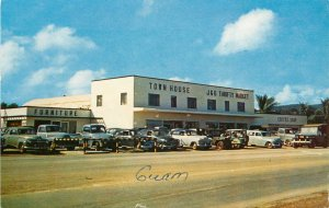 Vintage Postcard; Agana Guam, Town House Department Store- Largest on the Island