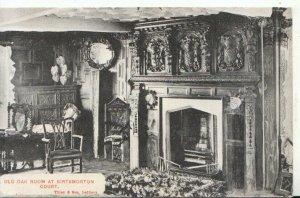 Worcestershire Postcard - Old Oak Room at Birtsmorton Court, Malvern  Ref 16711A