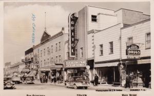 RP; ROUYN, PQ , CANADA , PU-1944 , Main Street , Art Deco CAPITOL Theater