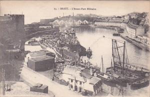 BREST, Finistere, France, 1900-1910's; L'Avant-Port Militaire