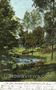The Dell, Fairmount Park Philadelphia PA 1907