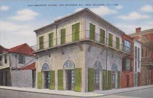 Louisiana New Orleans Old Absinthe House 234 Bourbon St