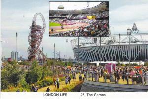 Post Card London Life  26. The Games