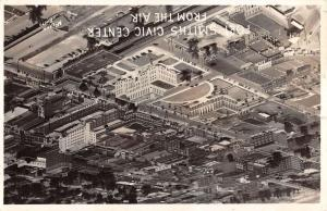 Fort Smith Arkansas Civic Center Real Photo Antique Postcard K65234