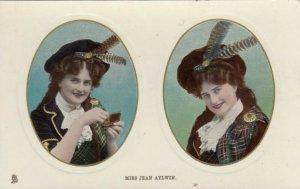 Actress portrait Miss Jean Aylwin; 00-10s; Dual Oval Portraits # 2