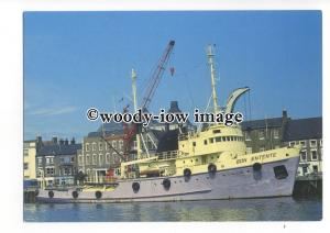 cd0263 - Salvage Tug - Bon Entente at Great Yarmouth - postcard