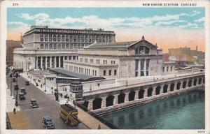Illinois Chicago The New Union Station Curteich