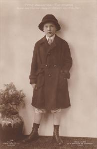 RP: Prinz Alexander Ferdinand, Sohn des Prinzen August Wilhelm von Preussen ,...