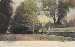 BELLEVILLE, Ontario , 1908 ; Church Street