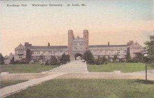 Missouri St Louis Brookings Hall Washington University Handcolored Albertype