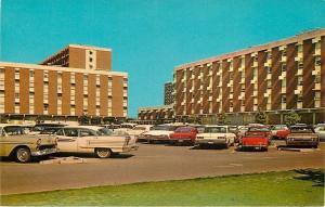 Stillwater~Oklahoma State University~Scott & Parker Halls~NICE 1950-60s Cars