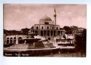172128 ALBANIA DURAZZO new mosque Vintage postcard