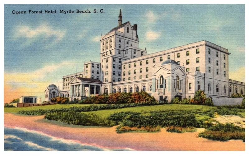 South Carolina Myrtle Beach , Ocean Forest Hotel