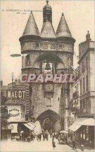 Postcard Old Bordeaux the Grosse Cloche