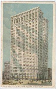 DETROIT, Michigan, 1900-10s; Dime Savings Bank, New Building