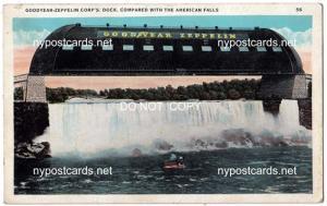 Goodyear Zeppelin Corp Dock, Niagara Falls NY