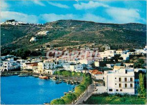 Modern Postcard General view Patmos