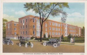 MINNEAPOLIS, Minnesota, 1910-1920s; The Sheridan Residence Hotel
