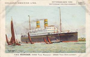 AS, Oceanliner/Ship, Holland-America Line, T. S. S. Veendam, 1928