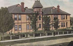 PARRY SOUND , Ontario , Canada , PU-1903 ; Public School