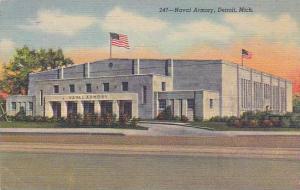 Michigan Detroit Naval Armory 1949