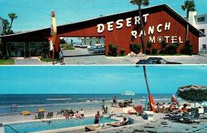 Florida Ormond Beach Desert Ranch Motel 1967