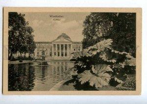 192118 GERMANY WIESBADEN Kurhaus Vintage postcard