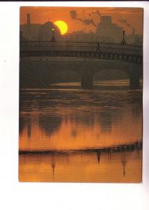 Sunset Over River Liffey, Dublin, Real Ireland Limited