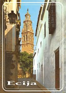 Spain Ecija Pacheco Street and the Saint Jean Parrish