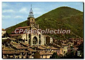 Postcard Old Route Napoleon worthy les Bains Alps de Haute Provence