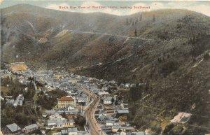 H9/ Wardner Idaho Postcard c1910 Birdseye View Homes School