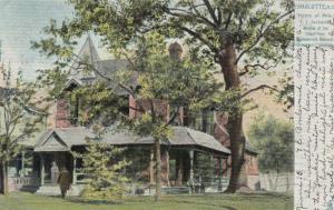CHARLOTTE, North Carolina, PU-1906; Home of Mrs. T. J. Jackson ; TUCK # 2349