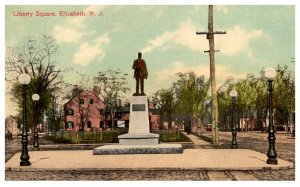 New Jersey  Elizabeth  Liberty Square Monument