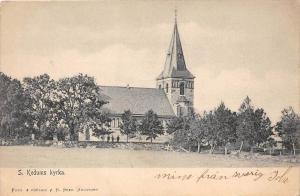 9681 Iceland  S. Kedums kyrka, Church