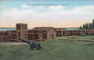 Michigan Mackinaw City Fort Michilmackinac