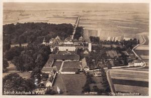 Bad Schwalbach Bad Schwalbach Schloss Adolfseck German RPC Postcard