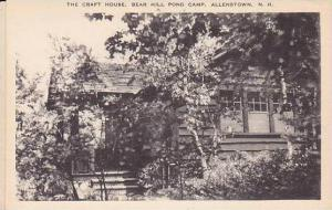 New Hampshire Allenstown Bear Hill Pond Camp Craft House Artvue